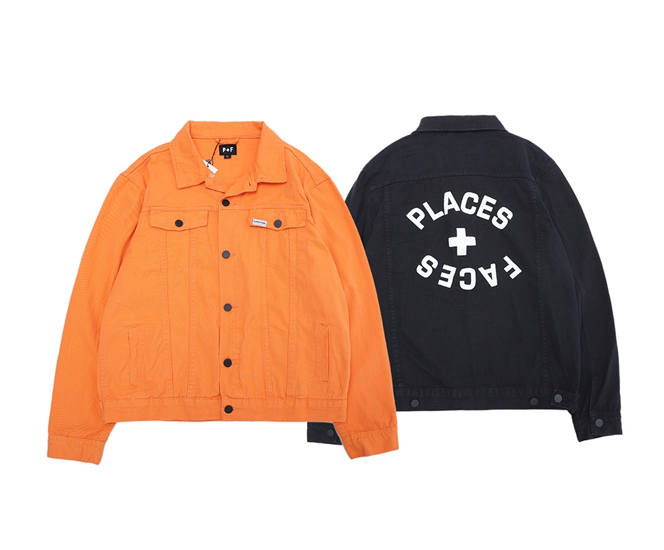 Places+Faces Jackets Men Women Streetwear Bomber Jacket Thickened Shirt P+F Long Coat High Quality Clothes Places+Faces Jacket