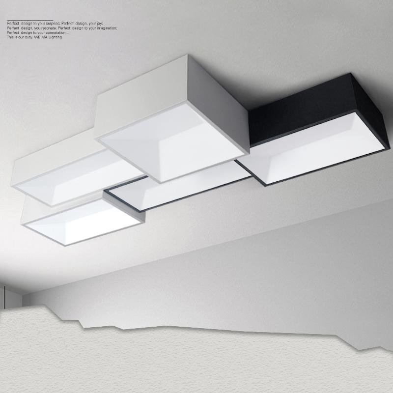 Led Deckenleuchten Diy Minimalistische Moderne Deckenleuchte Lampe