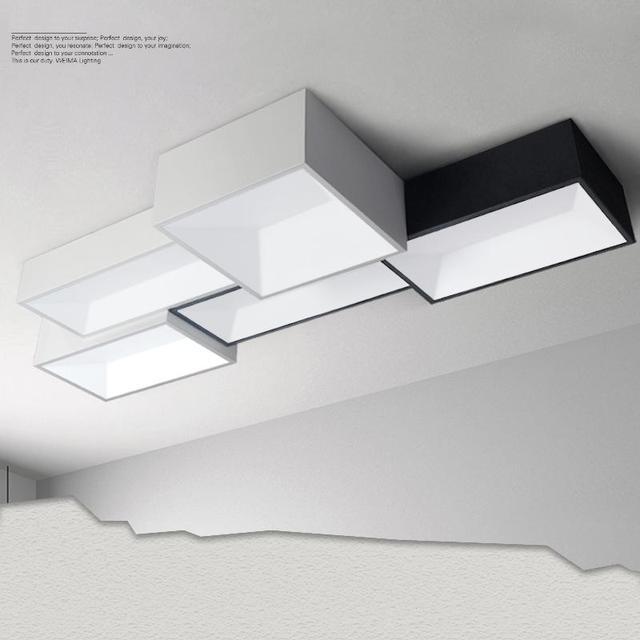 LED deckenleuchten DIY minimalistische moderne deckenleuchte lampe ...