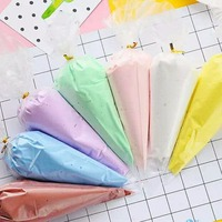 7 Renkler Kek Krem Kil DIY Renkli Kil Hamuru 50 g/torba Gıda DIY Aksesuarları