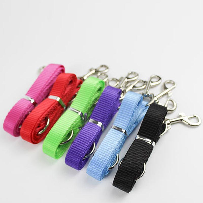 1.15M Nylon Dog Leashes Pet Walking Training Leash Cats Dogs Harness Collar Lead Strap Belt TB Sale
