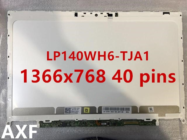 Original lcd display for xps 14z screen LP140WH6 TJA1 14 F2140WH6 Laptop LCD Screen 58wh original laptop battery for xps 14z l412x 14z l412z v79y0 ymyf6 0ymyf6