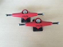 Russian Brand Union Skate Board Trucks 5.25″ Red Aluminum Skateboard Trucks De Skate