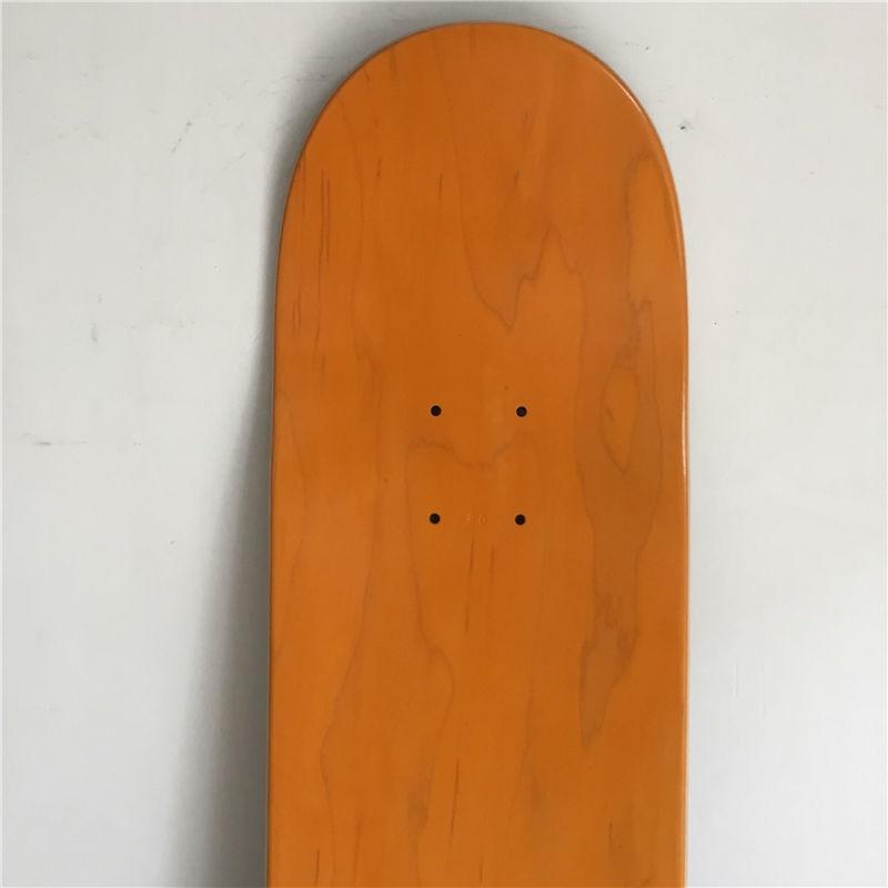 Blank skateboarding deck (4)