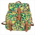 2017 Bolsas Feminina Mochila New Canvas Floral Women Backpacks Girls Schoolbag Book Bag For Teenagers Travel Sac High Quality