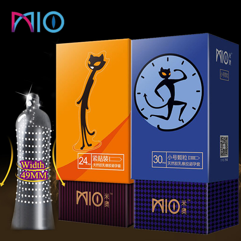 MIO Spike Lubricants Condom Men Granular Bumps And Fit Close Condoms Combination 30/36/78Pcs Penis Sleeve Intimate Sex Shopping