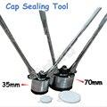 Набор инструментов для герметизации масляного барабана объемом 200 л  инструменты для запечатывания 35 мм и 70 мм  ручной Железный баррель  зах...