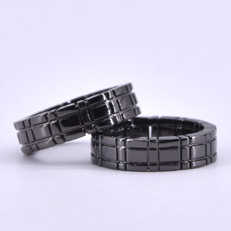 Himber Ring (Black/Gold Color Available) Magic Tricks Linking Ring Magie Close Up Street Gimmick Props Comedy