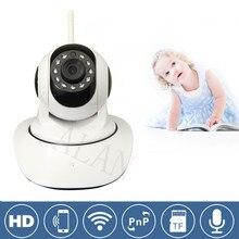 Ip-камера Wi-Fi Беспроводной Сети Mini Вращающийся Smart Security Camera Защиты для семья HD Cctv Поддержка Android IOS PC Smart