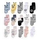 Infant Baby Boy Girl Cotton Socks Floor Anti Slip Cartoon Animal Cute Pattern Newborn Baby Socks For 0-2 Years