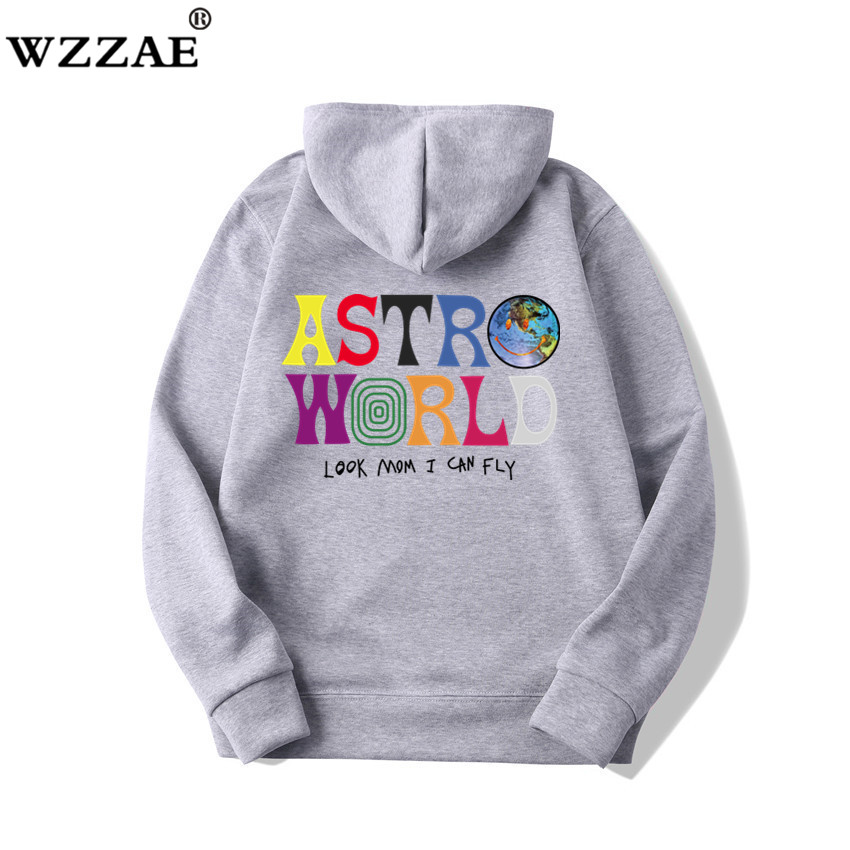 Fashion Letter ASTROWORLD HOODIE street wear Man woman Pullover Sweatshirt 52