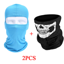 Summer Motorcycle Face Mask Balaclava Shield Biker Windproof Lycra Mascara Moto