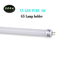 5piece T5 LED tube 10w 12w DC12V 710mm 860mm led tube light fluorescent G5 lamp holder replacement tube