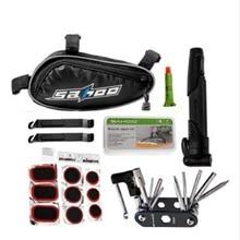 Bike Repair Tool 15 - in - 1 Multi-Function Bicycle Repair Tool With Repair Box Bag Convenient and Portable Tools MTB&Road Bike