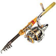 1 8M 2 1M 2 4M 2 7M 3 0M Carbon Portable Telescopic Fishing Rod Spinning