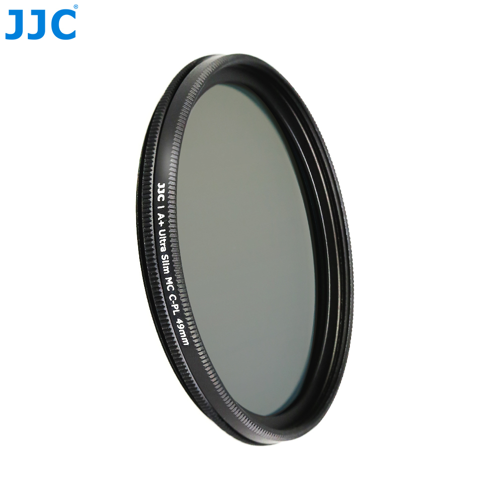 JJC Camera Lens Filters 37mm/40.5mm/43mm/46mm/49mm/52mm/55mm/58mm/62mm/67mm/72mm/77mm/82mm Ultra Slim Multi-Coated CPL Filter jjc 37mm 40 5mm 46mm 49mm 52mm 55mm 58mm 62mm 67mm 72mm 77mm 82mm uv cpl nd filter metal filter stack cap protector cover holder