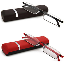 цена на Reading Glasses High Grade Tube Case Eyeglasses Fashion Book with Learning Reading Glasses For Men And Women gafas de lectura