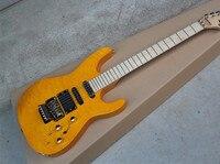 En kaliteli yorgan maple çin özel mağazalar sarı elektrik gitar jackson gitar 14815