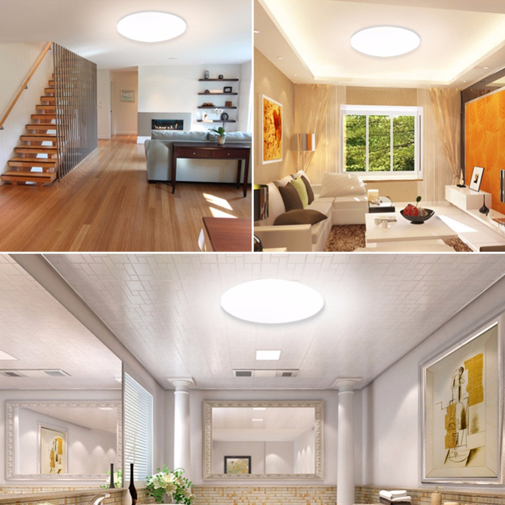 Ultra Thin LED Ceiling LED Ceiling Lights Lighting Fixture Modern Lamp Living Room Bedroom