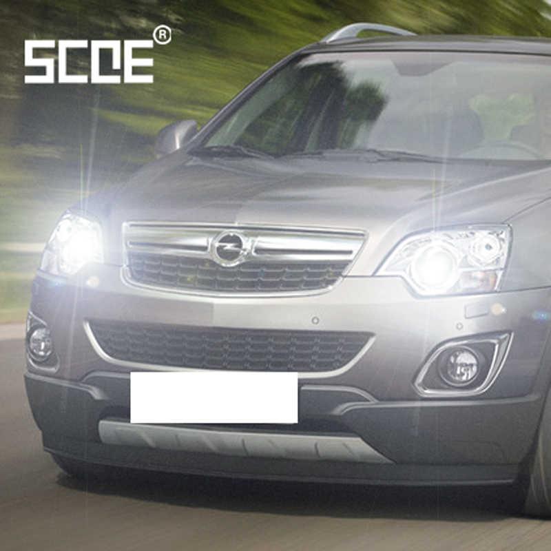 Cho opel Antara Astra J Combo Corsa C Insignia SCOE 2 PCS Auto Cao Chùm Siêu Bóng Đèn Halogen Đèn Pha Xe tạo kiểu ấm trắng