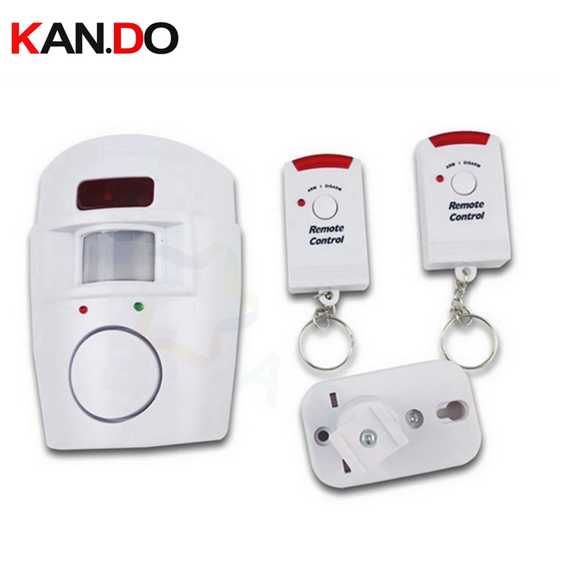 100% Quality Remote Control Function Anti-theft Infrared Sensor Alarm,ir Motion Detector Burglar Alarm Sensor Alarm Detector Security Alarm Skillful Manufacture