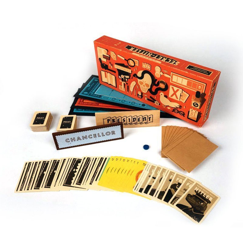 Secret Hitlers Intelligence Game For Family Party Board Card Porker Cards Indoor hitlers generals authoritative portraits of the men who waged hitlers war
