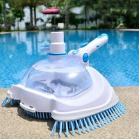 New Swimming Pool Suction Vacuum Head Brush Cleaner Pool Supply Flexible Manual Cleaner Pool Vacuum Head Cleaning Brush