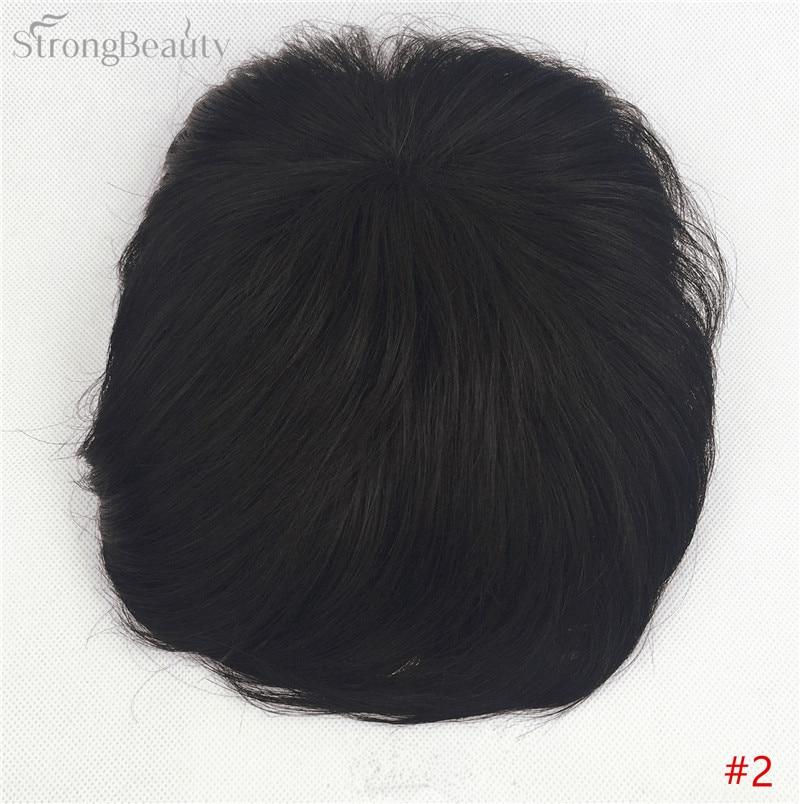 Сильная красота парик синтетические волосы парик выпадение волос топ кусок парики 36 цветов на выбор - Цвет: #2