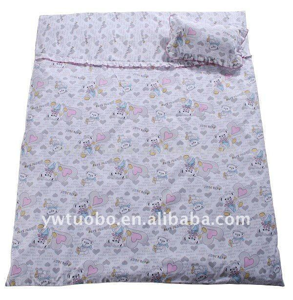 100% cotton baby quilt set with high quality
