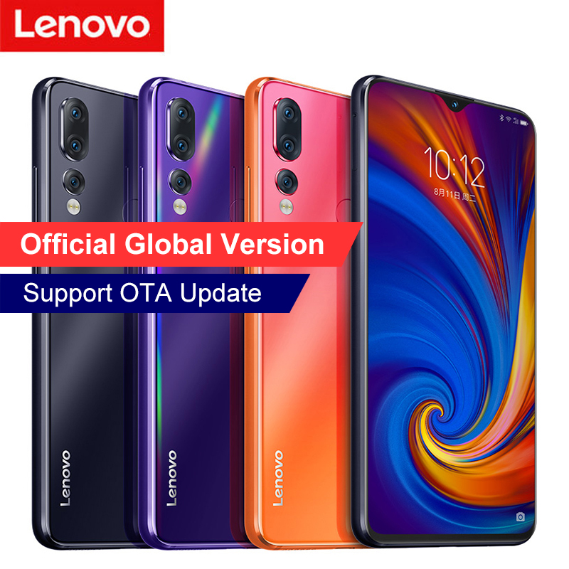 """Lenovo Z5s Smartphone 6GB 64GB Snapdragon 710 Octa CoreNotch Screen 6.3inch Fingerprint Face ID 6.3""""FHD+ 2340x1080 Android Phone-in Cellphones from Cellphones & Telecommunications    1"""