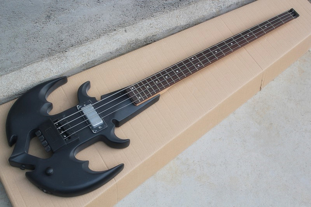 Wholesale Anchor Headless Shaped Electric Bass Guitar with Rosewood Fretboard,4 Strings,24 Frets,offering customized services