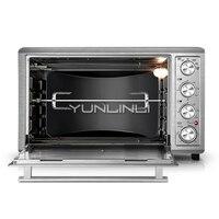 Бытовая электрическая духовка 65L большой емкости электрическая печь для выпечки независимый контроль температуры выпечки машина HBD 6003