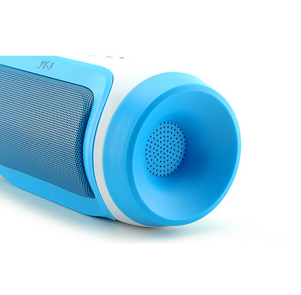 New JY-3 Portable with FM Outdoor Speaker For Phone MP3 Notebook PSP Wireless Bluetooth Speaker Support U-disck and TF card