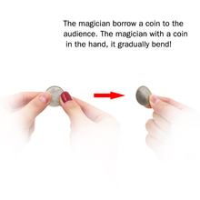 free shipping magic tricks Coin Bender цена и фото