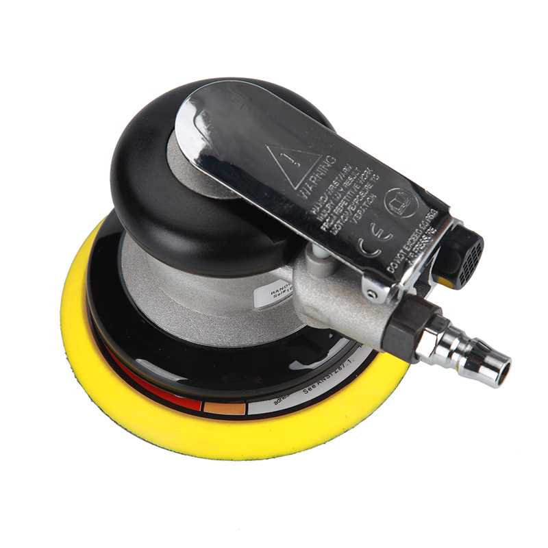 5 Inches Pneumatic Air Sander PRIMA Dual Action Polishing Machine Use 125 MM Sanding Discs  High Horsepower polisher Tools 11 11 free shipping adhesive sander back pad sanding machine mat black white for makita 9035