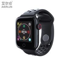 Aierlun Z7 Водонепроницаемый Смарт-часы Для мужчин Смарт часы с монитором сердечного ритма, крови Давление Фитнес браслет для iPhone iOS наручные часы Android