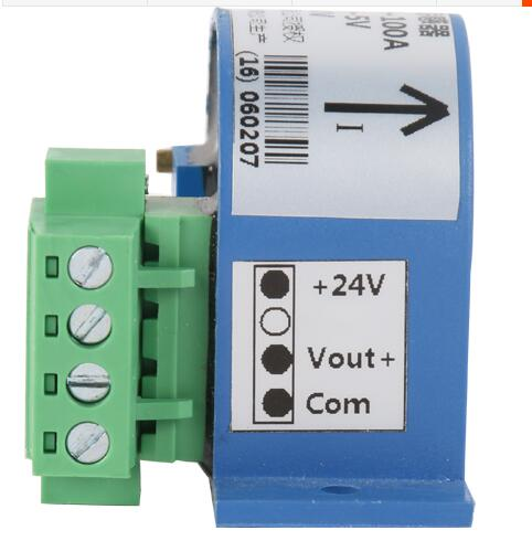 Single Phase AC Current Isolation Transducer Module, Linear Output 0-10V/4-20ma Detection hall current sensor transducer current sensors output 4 20ma 0 5v 0 600a 38mm hole diamter