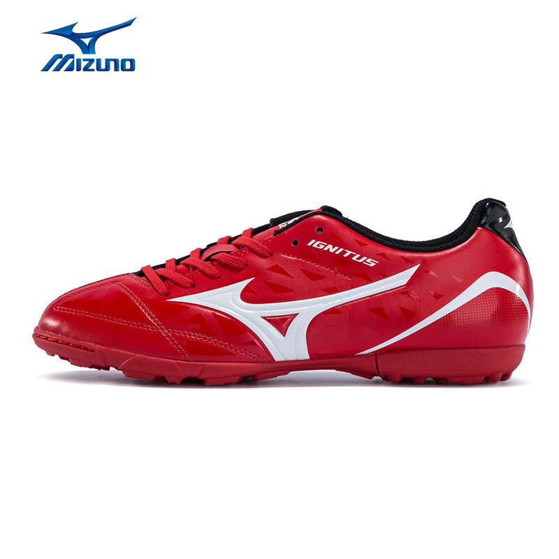 MIZUNO Men's IGNITUS 4 AS Support Footwear Soccer Shoes Breathable Sports Shoes Sneakers P1GD163201 YXZ042 2008 donruss sports legends 114 hope solo women s soccer cards rookie card