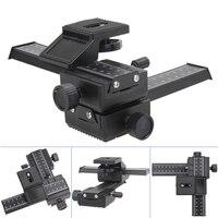 Professional 4 Way Macro Shot Focusing Rail Metal Slider For DSLR Camera Universal Adjustable Photography Rail