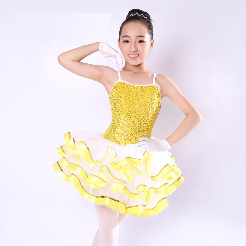High Quality New Ballerina Dress Kids Girl Ballet Tutu Sequin Classical Professional Ballet Tutus Costume Ballet Dress For Women