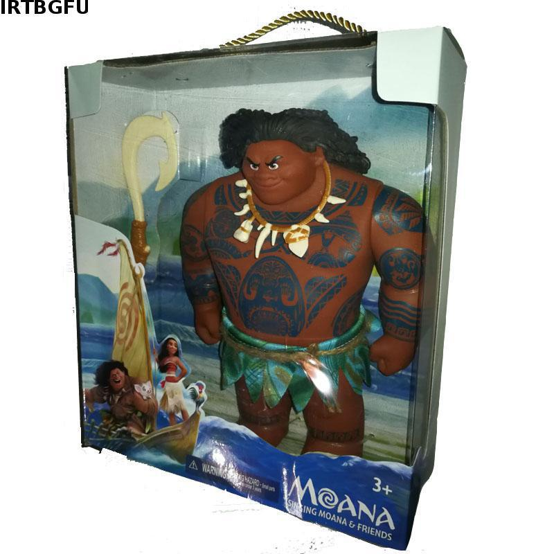 25/33cm Moana Movie Maui pvc Action & Toy Figures Chick Handan Spotted Pig Action Figures Toy Model For Girls Kids Lover