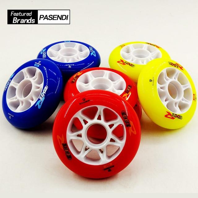 Velocidad profesional Patines 84mm para niños patinaje Patines rueda 88a  ruedas de Patines en línea Patines ee847f4b5bf