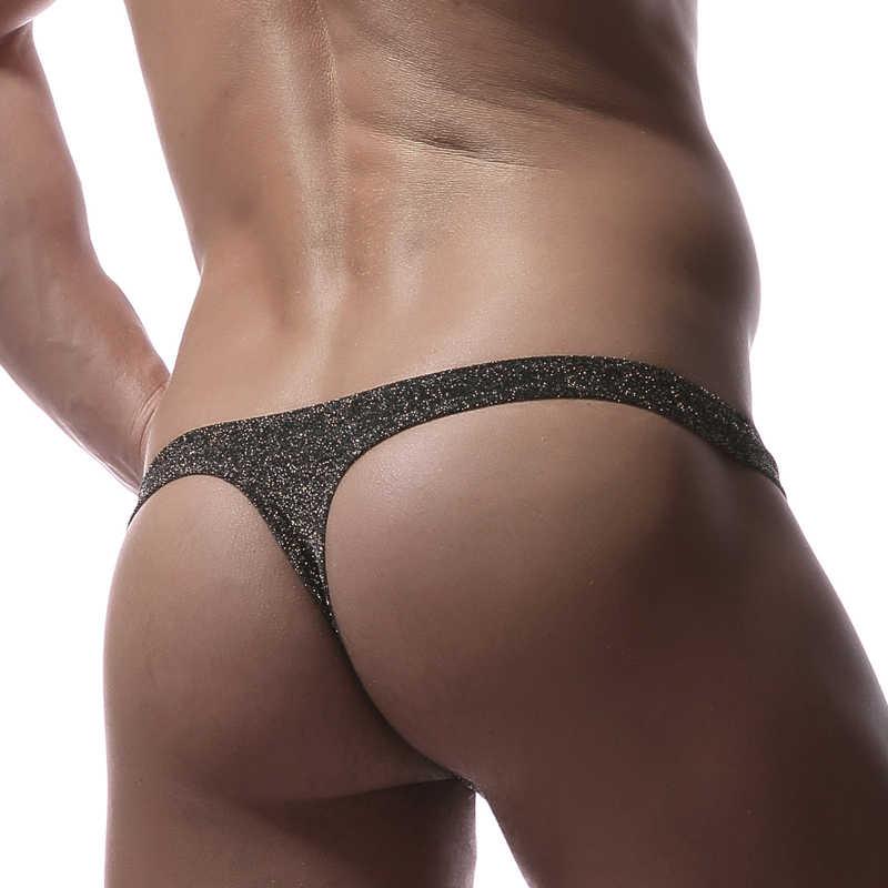 Nuevos calzoncillos Sexy para Hombre Ropa interior hombre Gay pene bolsa U  convexo G-string 9008883ce1d1