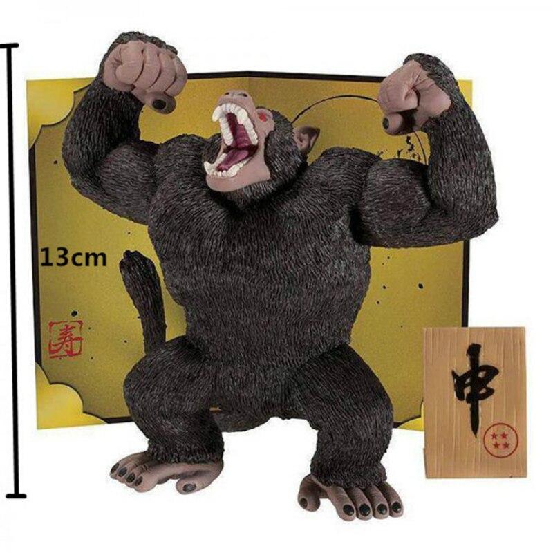 Новые горячие 13 см Dragon Ball Сон Гоку гориллы Beringei фигурку Игрушки Коллекция Модель Новогодние товары игрушка в подарок F008