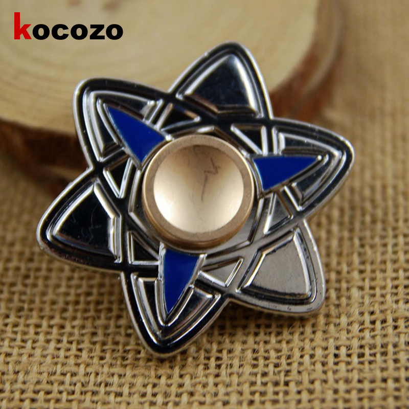 Creative Tri Spinner Fidget Toy EDC Hand Spinner for Autism and ADHD Stress Relieve Toy Focus