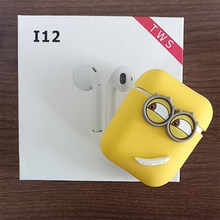 2019 new For tws i9s i11 i10 tws case bluetooth Wireless Earbuds apple AirPods Protector cute cover box accessories earpods(China)