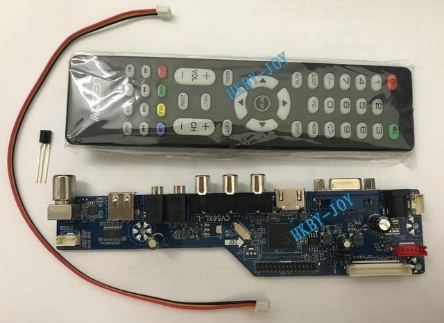 1b9bfa9e668 V29 Universal LCD Controller Board TV Motherboard VGA HDMI AV TV USB  Interface support 8-42 inch