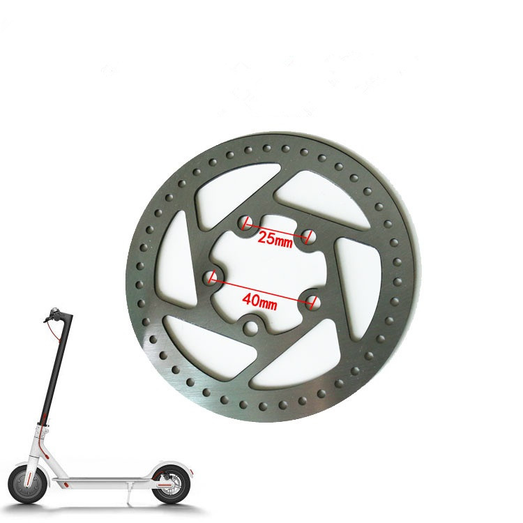 New-Custom-Stainless-Steel-High-quality-Disc-Brakes-only-for-XIAOMI-MIJIA-M365-Electric-Scooter-Brake