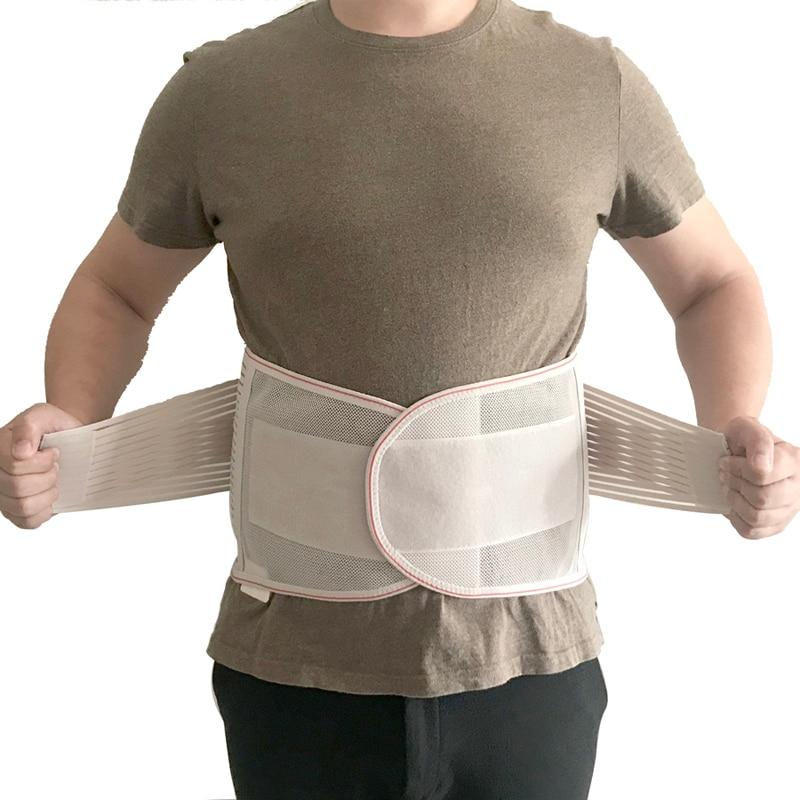 2019 Medical Back Brace Waist Belt Spine Support Men Women Belts Breathable Lumbar Corset Orthopedic Device Back Brace &Supports