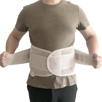 2021 medyczne powrót Brace pas biodrowy kręgosłupa wsparcie mężczyźni kobiety pasy oddychające gorset lędźwiowy ortopedyczne urządzenie powrót Brace amp obsługuje tanie i dobre opinie ALL FIT IN CN (pochodzenie) Bawełna ABS high elastic Breathable bandage YG- 013 Anty-zmęczenie Szelki i obsługuje Slimming Belt
